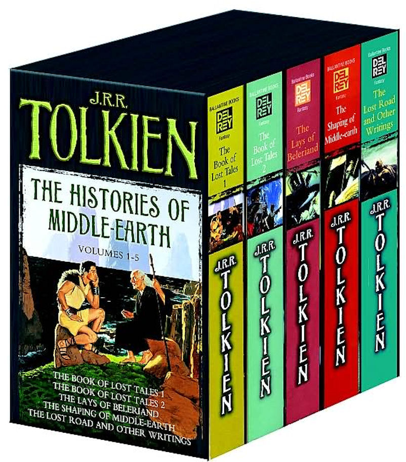 Book Tolkien History of Middle-Earth Box Set Random House