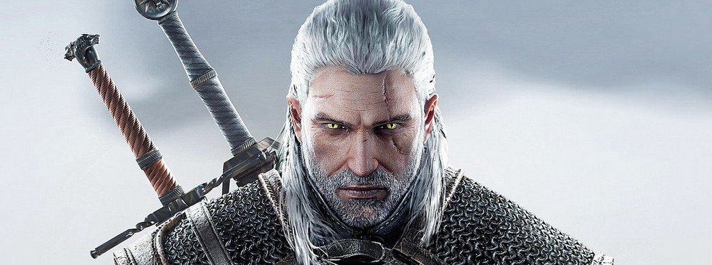 The Witcher is a badass, with a spare sword. photo Rob Obsidian, cc