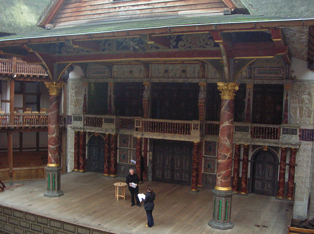 Globe Theatre photo Alison Sanfacon