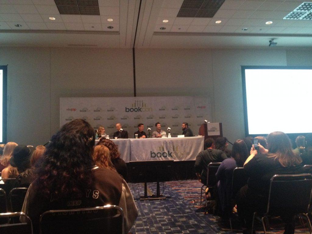 Naomi Novik, Scott Sigler, Justin Cronin, Pierce Brown, & Del Rey Editor Mike Braff