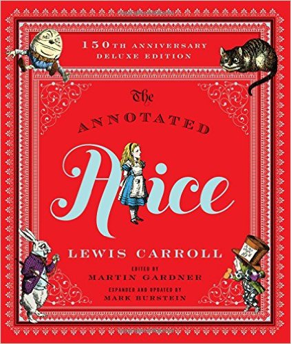 The 150th anniversary deluxe annotated Alice - probably the one you want
