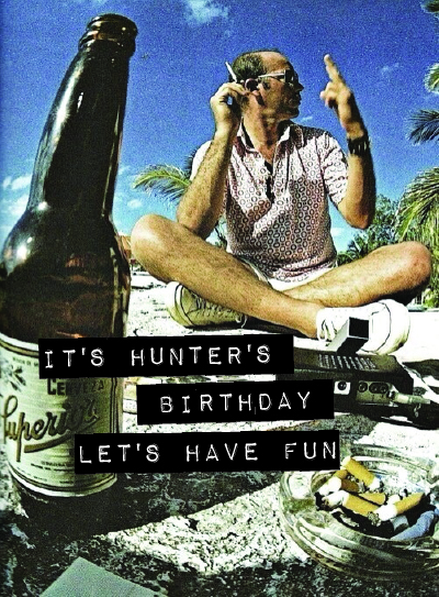 Hunter's Bday