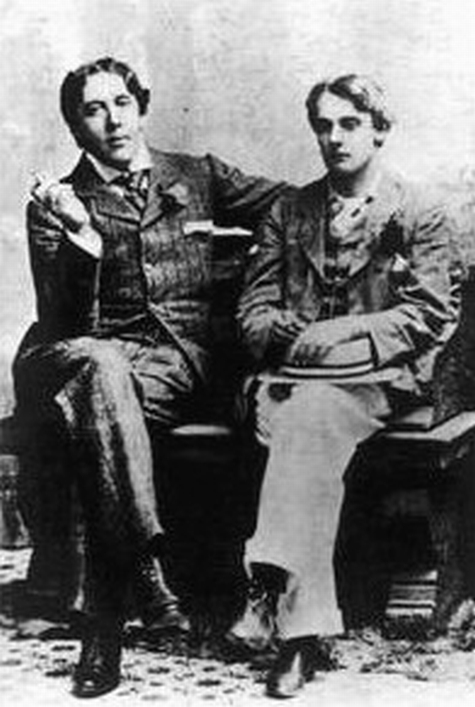 Wilde and his lover Lord Alfred Douglas