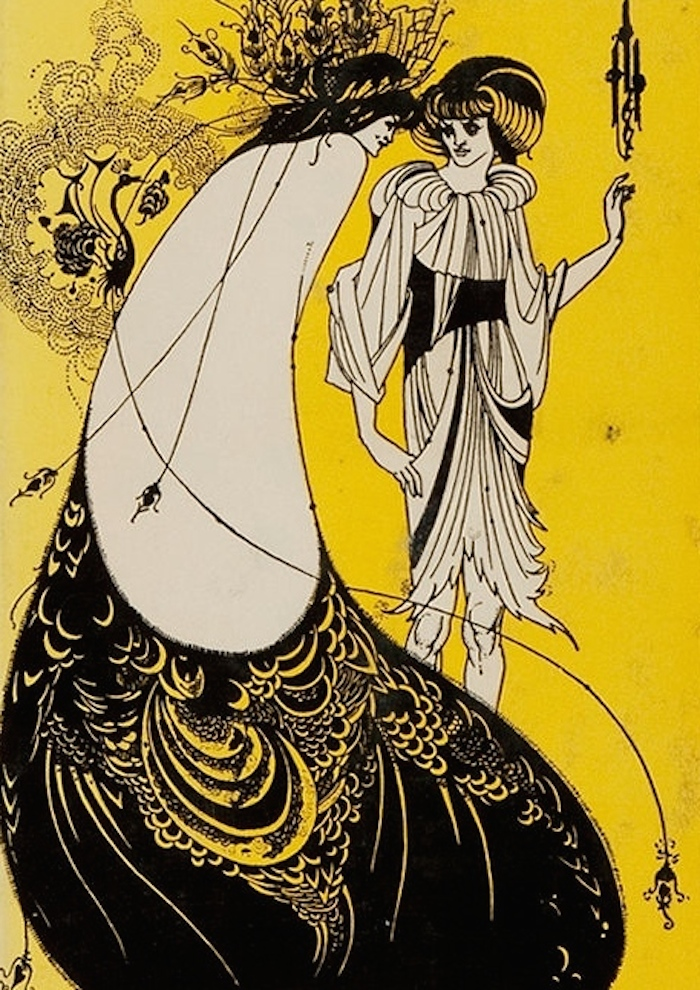Aubrey Beardsley illustration for Salomé