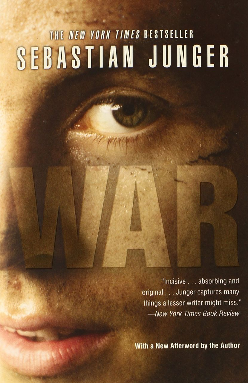 a literary analysis of war by sebastian junger Writer sebastian junger, who has reported on the war in afghanistan, called the book one of the most profound and devastating novels ever to come out of vietnam—or any war it's not a book so much as a deployment, and you will not return unaltered.
