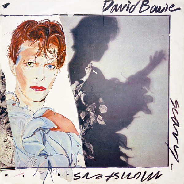 David Bowie - Scary Monsters album cover